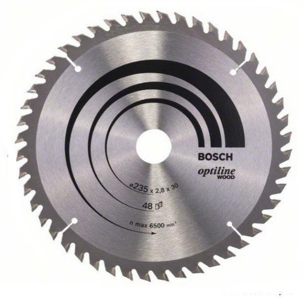 Циркулярный диск Bosch 235x30 48 Optiline