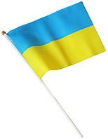 Украинский флажек настольный без присоски 135х210мм