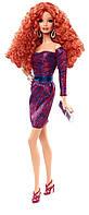 Коллекционная кукла Barbie look рыжая Look City Shine