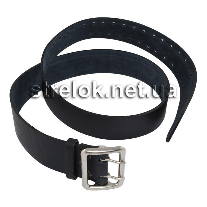 Офицерский ремень (без прошивки) черный
