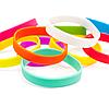 Силиконовые браслеты  оптом, упаковка 100шт., фото 2