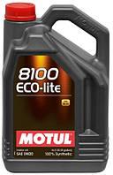 Моторное масло Motul 8100 ECO-lite 0W-20,5л