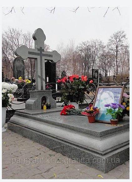Православный крест на могилу № 95