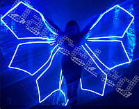 Костюм для восточных танцев - светодиодные крылья