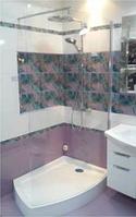 EGER 599-657 ILUSIO'N душ.уголок(передняя стенка+ поддон) 120*85*200 см(Венгрия)