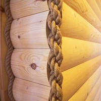 Декоративные работы по срубу, деревянному дому, фото 1