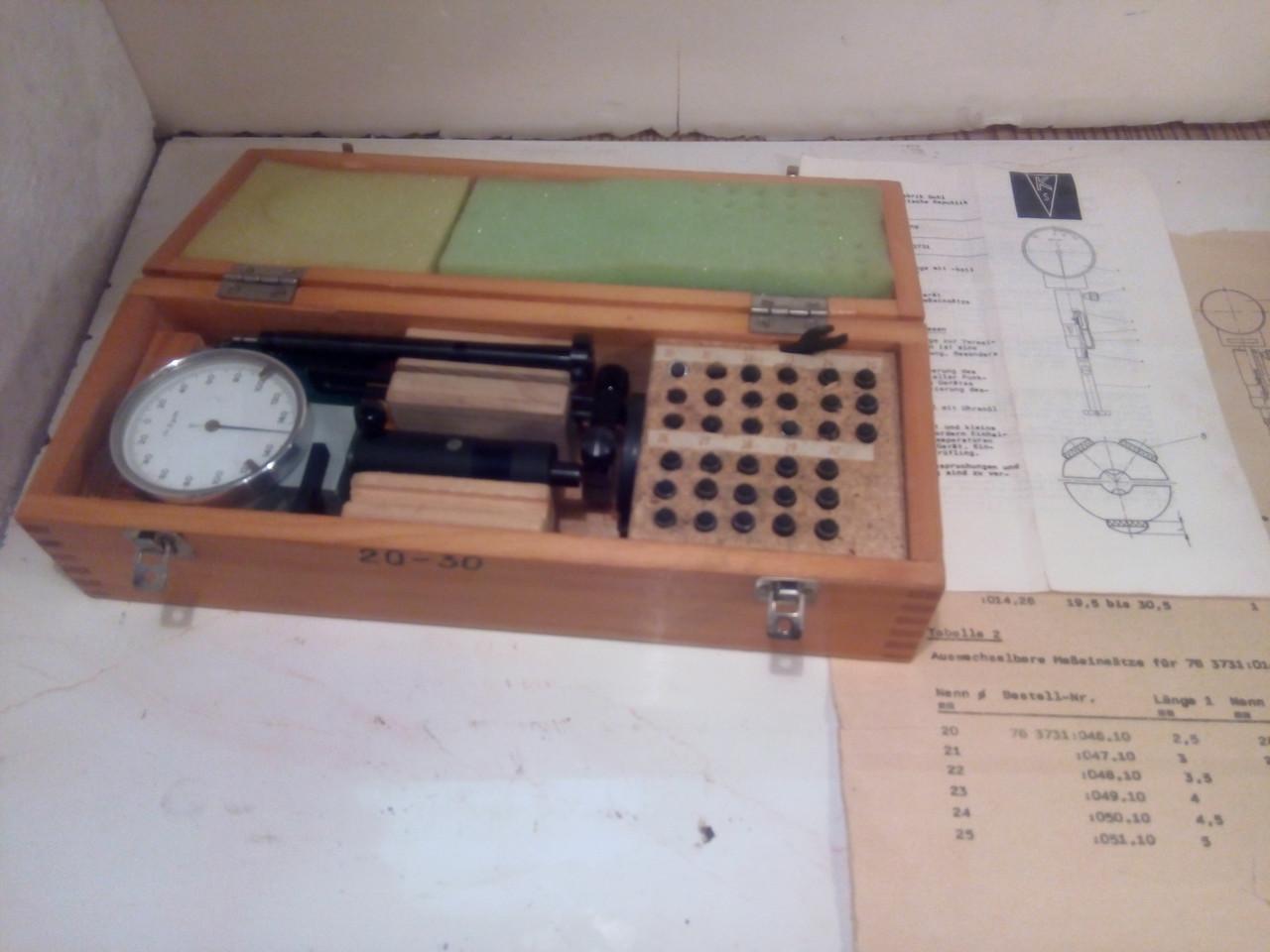 Нутромер повышенной точности 20-30 трех-точечный(Германия) (возможна калибровка  в УкрЦСМ)