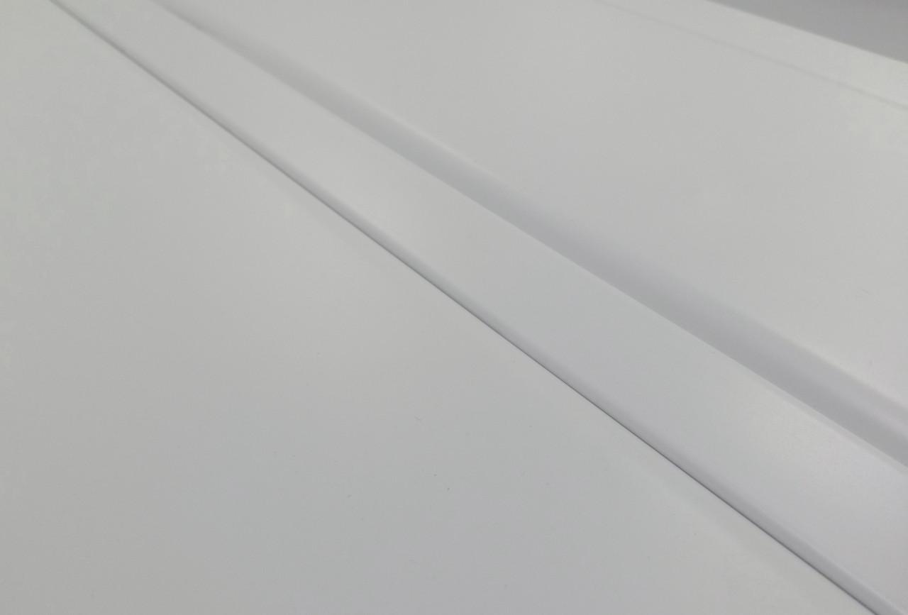 Реечный алюминиевый потолок белый комплект