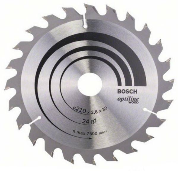 Циркулярный диск Bosch 210x30 24 Optiline