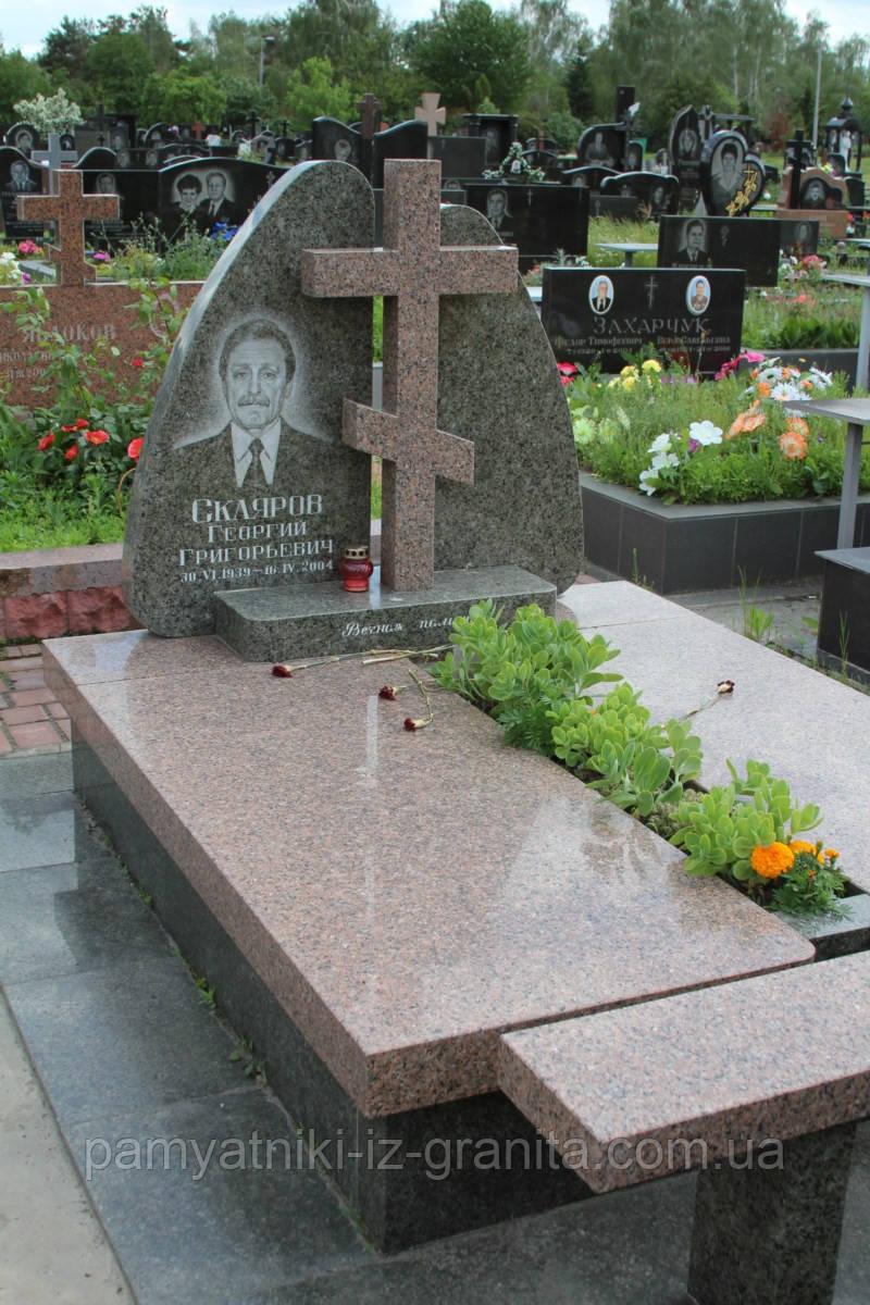 Православный крест на могилу № 99