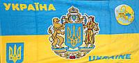 Пляжное полотенце Символика Украины