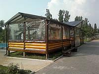 Утепление летних площадок ПВХ Харьков