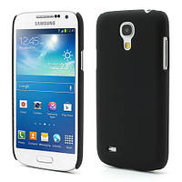 Чехол пластиковый матовый на Samsung Galaxy S IV S4 mini I9190, черный