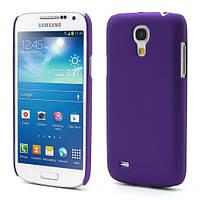 Чехол пластиковый матовый на  Samsung Galaxy S4 mini I9190, фиолетовый