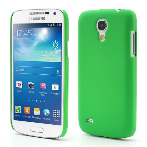 Чехол пластиковый матовый на Samsung Galaxy S4 mini I9190, зеленый - Интернет-магазин Mobile-Street в Бердянске