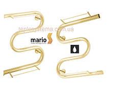 Полотенцесушитель водяній Змії (25) 500 х 500 з поличкою (Mario), фото 2