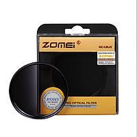 Градиентный светофильтр ZOMEI 58 мм - серый (grey)