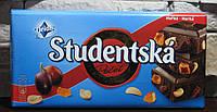 Шоколад черный Studentska с изюмом и арахисом Чехия 180г