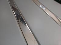 Реечный алюминиевый потолок металлик RAL 9006, вставка зеркальная, комплект