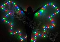 Крылья для восточных танцев (светодиодные)