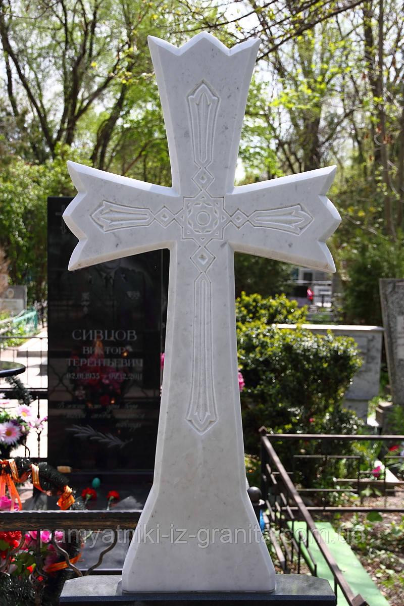 Крест из мрамора № 7