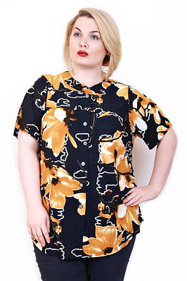 Рубашка размер плюс Тесс2 (54-58)