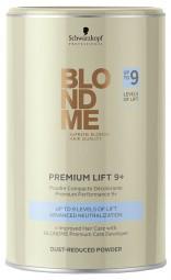 BM Premium lightener 9+ Dust Free Powder Обесцвечивающая блондинг-пудра 450 мл