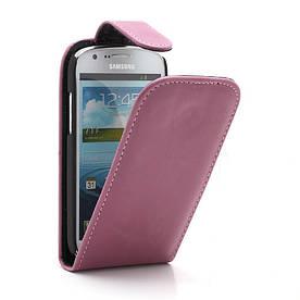 Чехол книжка для Samsung Galaxy Express I8730, розовый