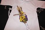 """Рубашка для крещения """" Прованс """" с капюшоном, фото 5"""