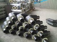 Отвод стальной 42/110 в СПИРО оболочке