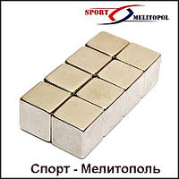Магнит - куб 15x15x15 сила 10 кг