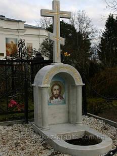 Крест из мрамора № 8