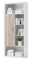 Книжный шкаф из массива дерева 021