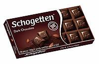 """Шоколад """"Schogetten Dark Chocolate"""" (Темный горький Шоггетен), Германия, 100г"""