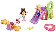 Fisher-Price Игровой набор Даша и друзья на игравой площадке Даша и Алана Nickelodeon Dora and Friends Doggie Park Friends Dora and Alana