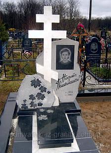 Крест из мрамора № 16