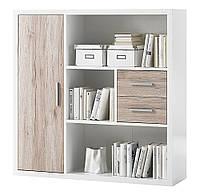 Книжный шкаф из массива дерева 022