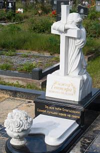 Крест из мрамора № 20