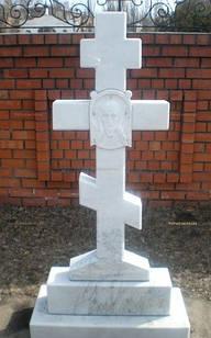Крест из мрамора № 23