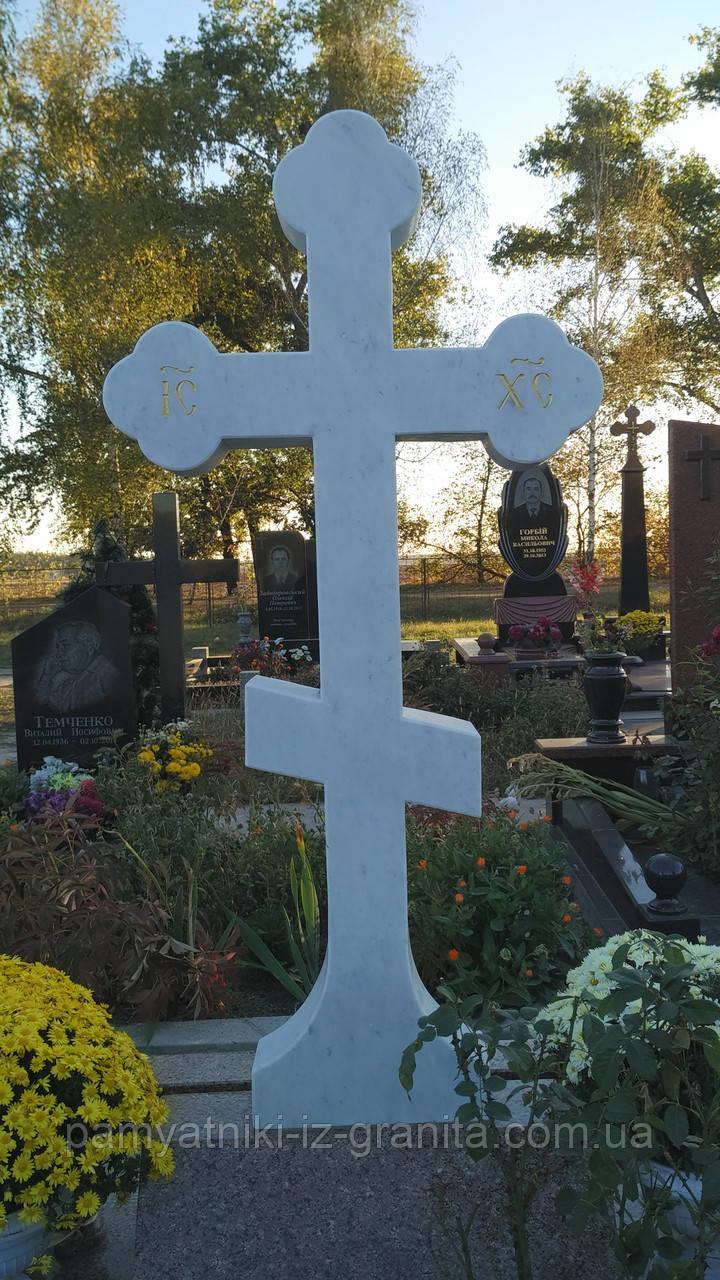 Крест из мрамора № 27