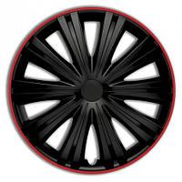 Колпаки Argo R14 GIGA R (черн с красн ободком)