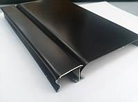 Реечный потолок чёрный, комплект