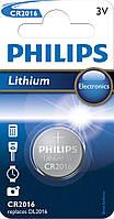 Батарейки Philips CR 2016 BL1