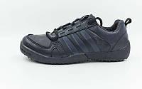 Кроссовки Adidas Обувь спортивная мужская (р-р 40-44)  черный