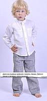 Рубашка льняная, из натурального льна. Производство Украина