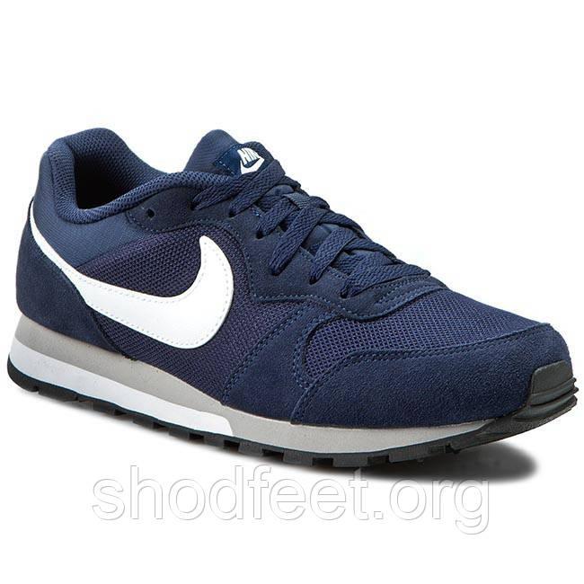 Мужские кроссовки Nike MD Runner Suede Blue