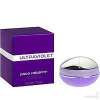 Женская парфюмированная вода Paco Rabanne Ultraviolet Пако Рабан Ультрафиолет