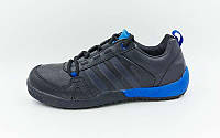 Кроссовки Adidas Обувь спортивная мужская (р-р 40-44) черный-синий