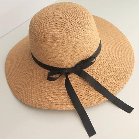 Соломенные шляпы женские