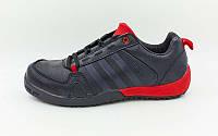 Кроссовки Adidas Обувь спортивная мужская (р-р 40-44) черный-красный